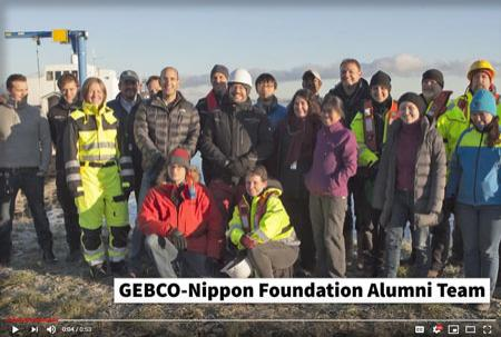 Group photo of the GEBCO-NF Alumni Team.