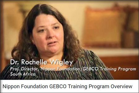 Dr. Rochelle Wigley speaks about the GEBCO training progam.