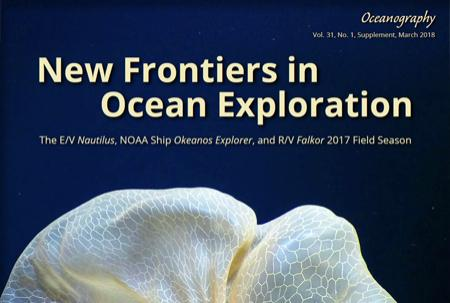 Cropped cover of the supplement with title and image of a jellyfish
